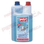 Detergent lichid PULY MILK Plus,  1 L pentru capucinator