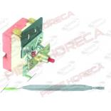 Termostat de siguranta cu declansare la 110oC, 1contact(1pol), 16A, lungime senzor 98mm si diamtrul de 6mm, lungime tub capilar 2930mm