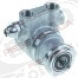 Pompa apa,volumetrica rotativa PA311 - PO311 FLUID-O-TECH, 300 l/h, INOX, cu bypass, racorduri 3/