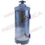 Dedurizator manual cu 2 robineti 20 litri