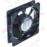 Ventilator axial cu rulment pentru aer cald sau rece, dimensiuni 119x119x25mm, putere 14W, alimentare 230V/50Hz. Producator EBM-PAPST, cod producator 9956