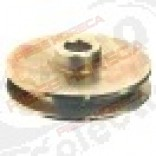 V-belt pulley disc o 80mm single