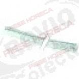 Garnitura snur impletit 10x10 mm, sectiune patrata, 550 °C, L 5 m
