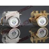 "Pompa volumetrica (rotativa) Fluid-o-tech PAO500BNONN0000, 500 L/h, 1450 rpm corp din otel inox, conexiune 1/2"""