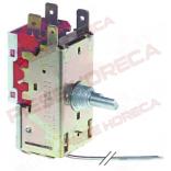 Termostat  RANCO tip K50L3078, temperatura  de lucru  -7◦C/ -3◦C, lungime capilar 2000mm.Pentru ELECTROLUX, DEXION, MBM, MBM-ITALIA