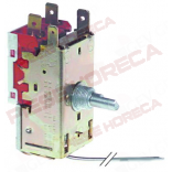 Termostat  RANCO tip K50L3081, temperatura de lucru  -3◦C/ -12◦C, lungime capilar 1200mm