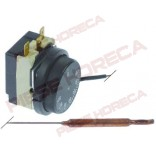 Termostat de lucru 30-90◦C, 1contact 16A, dimensiuni senzor 6,5x67mm, lungime capilar 1450mm (izolat70mm)