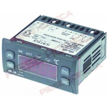 Termostat  digital ELIWELL tip IC915LX , temperatura de lucru -150◦C la + 1350◦C, sonde utilizate Pt100, /TC-J, alimentare 230V Ac, montare pe 71x29mm