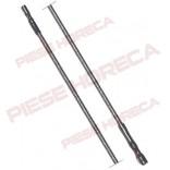 Cablu de aprindere cu lungimea de 900mm, conectori de 2,4mm la ambele capete, temperatura maxima constructiva 200◦C