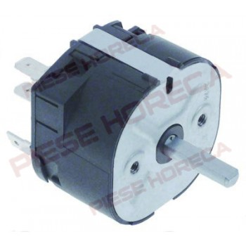 Timer 120min, producator EKA model KF966 AL-UD, serie 2612005659, actionare mecanica, 2contacte 2CO,alimentare 230-250V 16A. Pentru FALCON,TECNOEKA,UNOX