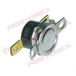 Termostat bimetal 86◦C, 1 pol, 10A, conectori de 6,3mm, distanta intre gaurile de  fixare 23,8mm