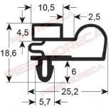 Garnitura usa masa rece DESMON, MONDIAL, profil 9010, lungime-620mm, latime 515mm