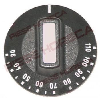 Buton termostat t.max. 110°C, ø 50mm, ø ax 6x4,6mm