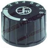 Buton pentru valva de gaz termostatica seria MINISIT, ø 37mm