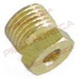 Conector, niplu, fixare teava flacara de veghe cu diametrul exterior de Ø4mm, filet de M10x1