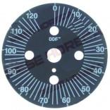 Disc grad pentru timer 120min, 0067,  diametrul de 60mm, rotatie 0-330°C