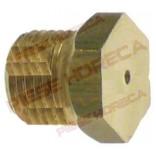 Duza arzator (ochi)  aragaz ANGELO-PO,  filet M10x1, hexagon de 12, gaura distributie gaz de Ø2,4mm