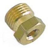 Conector, niplu, fixare teava flacara de veghe cu diametrul exterior de Ø4mm, filet de M10x1. Cod SIT 0958013, 0.958.013