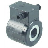 Bobina electrovalva BRAHMA , tip 13942000, interior Ø30mm, alimentare 230V, putere 35VA, interior  Ø30mm. Pentru valve gaz