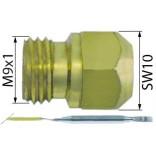 Duza M9x1 WS 10 ø gaurii pentru iesire gaz 0,65mm