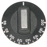 Buton comanda gradat 60-200◦C, diametrul de 50mm, conectare pe ax de 6x4,6mm, culoare neagra. Pentru termostat de lucru reglabil cu lungimea capilara de 1500mm