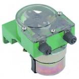 Pompa peristaltica, dozatoare, producator GERMAC tip G300, control al frecventei pentru un debit  de maxim 3l/h, alimentare 230V, conectori pentru furtun de Ø4x6mm, dimensiuni 67x72x101mm