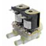 "Electrovalva apa masina de spalat vase, producator MULLER, intrare ¾"", iesire Ø14,5mm, temperatura de lucru maxima constructiva 90◦C, alimentare 230V"