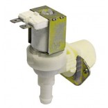 "Electrovalva plastic, 24V AC, intrare 3/4"" iesire 11,5 mm, deschidere nominala DN10 producator TP"