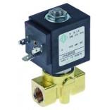 "Electrovalva ODE intrare/iesire ¼"", L-40mm, DN (deschidere nominala) – 2,5mm, membrane FKM (apa/abur), presiuni de lucru – 0-14bar, tip BDA serie 21A, temperature de lucru -10◦C/+140◦C, alimentare 230V/50-60Hz. Pentru La-Scala"