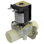 "Electrovalva plastic 24V AC, intrare 3/4"" , iesire 3/4"" , DN10, temperatura maxima 90°C , producator MULLER"