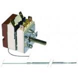 Termostat cu comutator(2NO) EGO 55.13522.400,  temperaturi de lucru 50-320oC 1pol 16A, dimensiuni senzor 3,03x160mm, lungime capilar-1150mm, dimensiuni ax-Ø6x4,6mm, lungime ax-23mm.