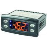 Termostat pentru masa rece. Termostat (controler) digital ELIWELL tip IDPlus974, dimensiune de montare 71x29mm, alimentare 230V AC, se utilizeaza cu sonda NTC(PTC/PT1000 se utilizeaza in functie de parametri).  Pentru FAGOR
