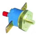 Termostat de siguranta bimetalic,  70◦C 1 pol /16A, fixare cu surub M4, conectori tata de 6,3mm, resetare manuala.  Pentru CF-CENEDESE