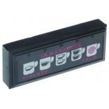 Tastatura masina cafea, expresor  La Marzocco, tip 3D5+TEA, 5 butoane, producator Gicar