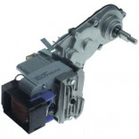 Motoreductor dispenser bauturi, aparate granita, granitoare,  alimentare 230V AC, dimensiuni ax 12/6mm, lungime 240mm