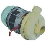 Pompa masina de spalat vase ELFRAMO, producator LGB tip  MRSSX, alimentare 230V 50Hz, 1 faza, putere 1kW(1,36Hp), intrare Ø53mm, iesire Ø44mm, lungime-240mm
