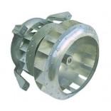 Ventilator aer cald tip R2D225-AG02-10, 1faza, alimentare 230V/400V , putere 0,25kW, 2700rpm/50Hz si 3000/60Hz, diametru turbina 227mm. Se livreaza complet cu turbine