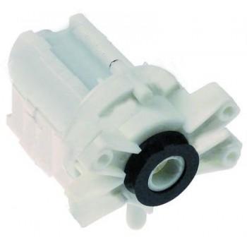 Pompa apa masina cuburi de gheata ITV, MKN,  producator HANNING tip DP040-025, alimentare 230V 50HZ, putere 30W, intrare Ø24, iesire Ø11mm, lungime- 130mm
