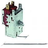 Termostat  evaporator RANCO, tip K22L1082, temperatura  de lucru -22◦C  la -3◦C, lungime capilar 2300mm, alimentare 230-250V, 6A. Pentru masini de gheata BREMA, ELECTROLUX, ZANUSSI, RANCILIO, SOTAL, RANCO