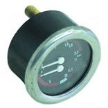 Manometru cu scala dubla, presiuni masurate 0-2,5bar/ 0-15bar, montare pe Ø63mm. Pentru expresoare La Cimbali, GRIMAC