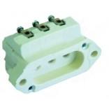 Conector ceramic pentru rezistenta  grill, putere 2000W, alimentare 230V, lungime-327mm, latime 228mm, 3 varfuri, conectori cu surub de M4x1