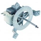 Motor ventilator HANNING tip EMB-30-028, alimentare 230V, putere 45W, distanta intre gaurile de fixare (L4)-130mm, distanta intre suport si spatele turbinei (L2)-69mm. Pentru cuptor  Küppersbusch, N_H,F_H