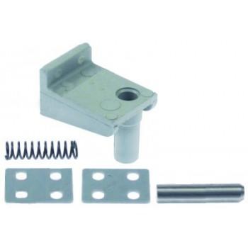 Balama usa refrigerare Fagor, pozitionare stanga, L 51mm, W 36mm, H 40mm