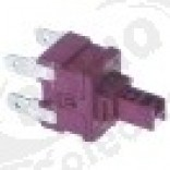 Intrerupator buton 19x13mm, 2 NO