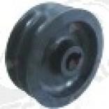 V-belt pulley disc o 75mm 2-fold