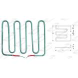 Rezistenta grill, 1800 W, 230 V, L 175mm, l 208mm