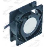 Ventilator axial pentru aer cald, masa calda, t. max. 70◦C, cu carcasa metalica si motor cu rulment, alimentare 230V/50Hz, putere 13/14W