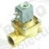 """Electrovalva 2 Cai, 24 V CA, racord 1"""", L 105 mm, deschidere nominala,Comenda"""