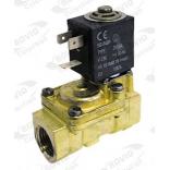 Electrovalva SIRAI, alimentare 230V, conexiuni  ľ  ť, 2 cai, TIP (serie) L180-B, echipata cu bobina tip Z610A, temperatura de lucru -10oC + 90oC, presiune maxima 12bar