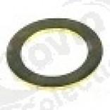 Garnitura pentru ax de motor, alama, int. o 17,3 mm, ext. o 25